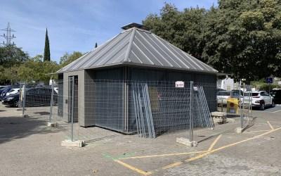 Valldoreix, la primera localitat amb un Bicitancat a l'estació de ferrocarrils