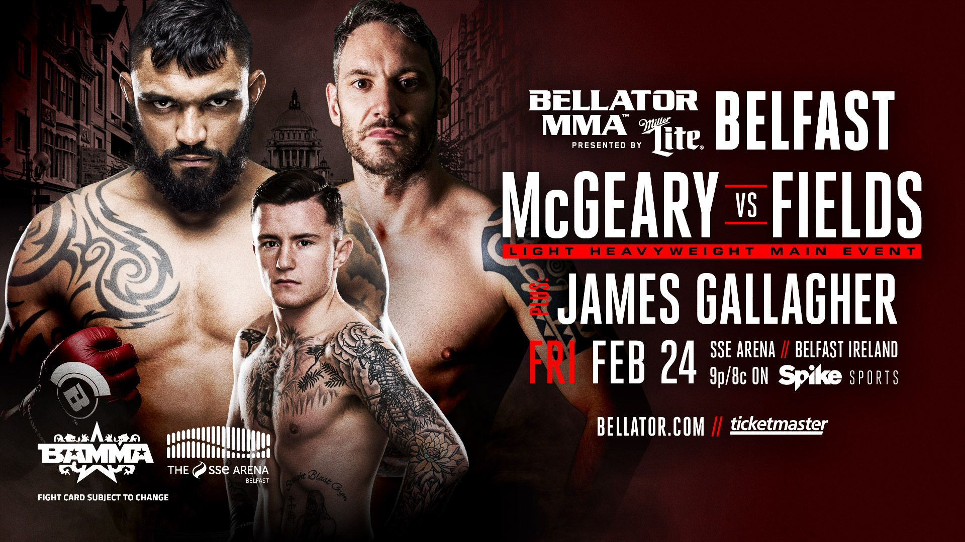 Image result for Bellator 173 Poster