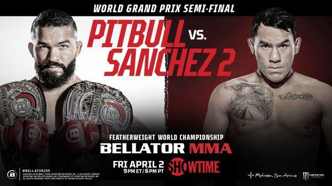 Bellator 255: Pitbull vs Sanchez 2 promotional poster photo