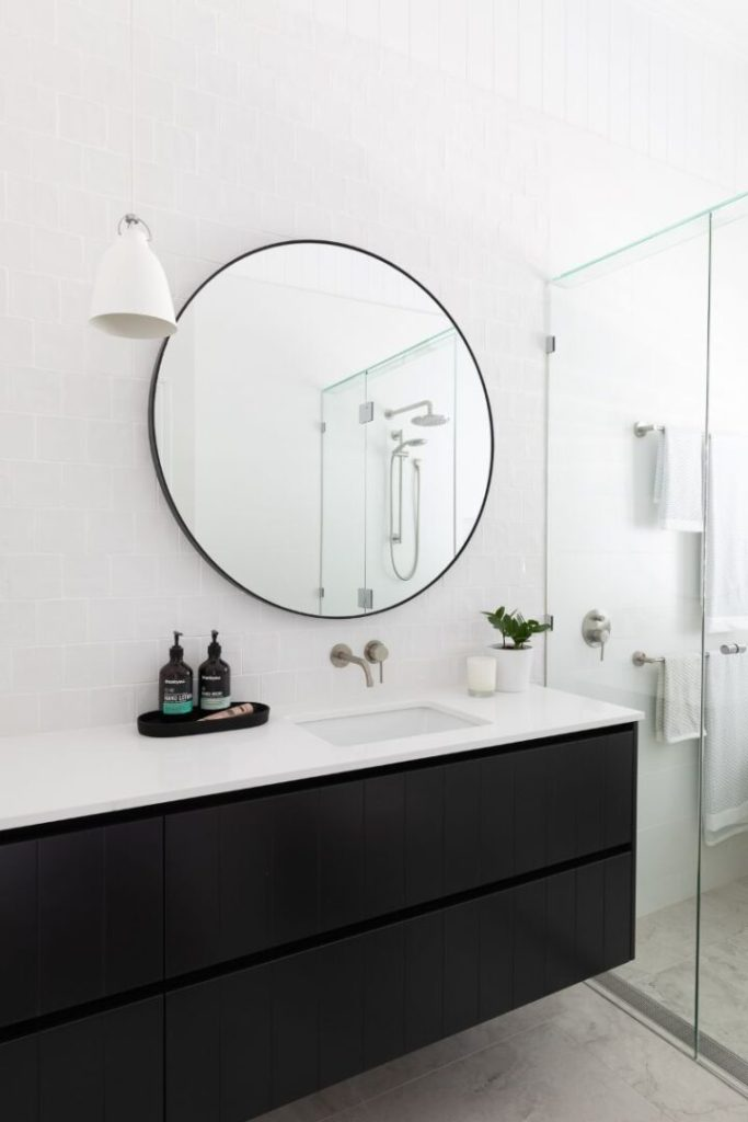 Red Hill House Bathroom Vanity Bella Vie Interiors