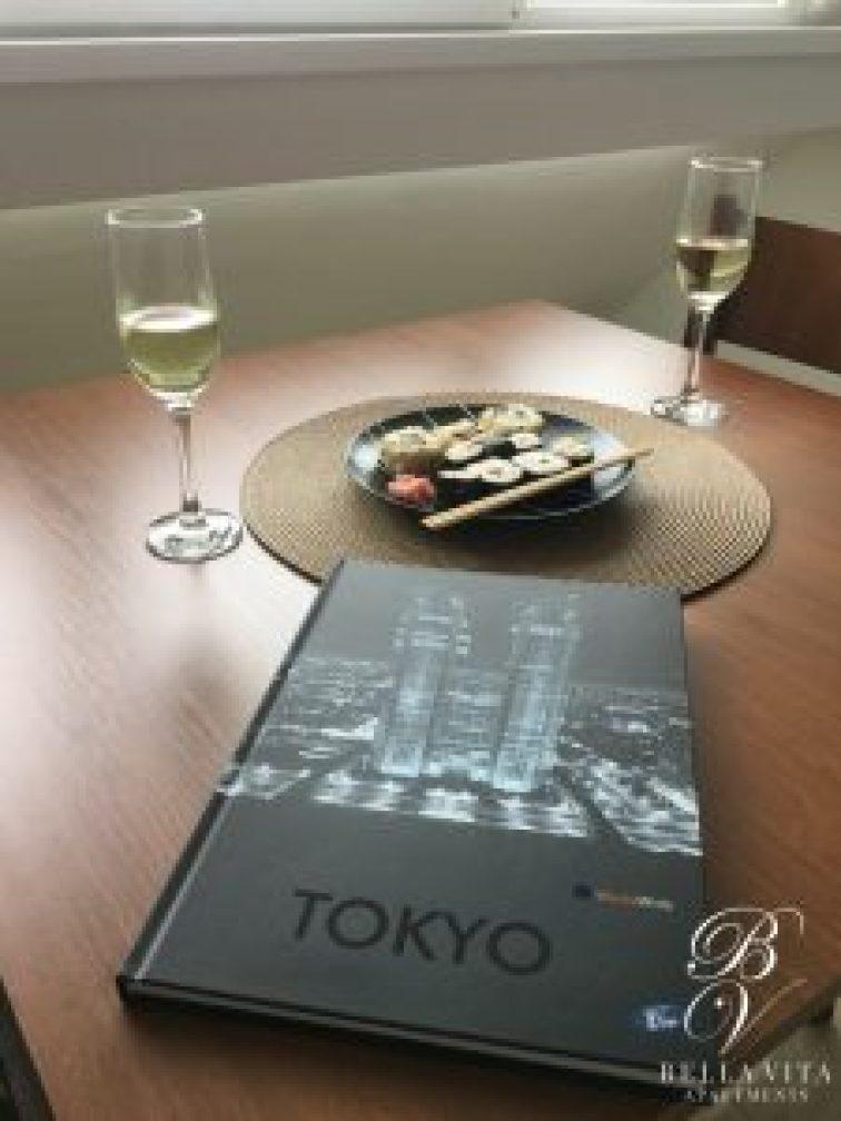 Маса за двама в луксозно обзаведен апартамент под наем Благоевград