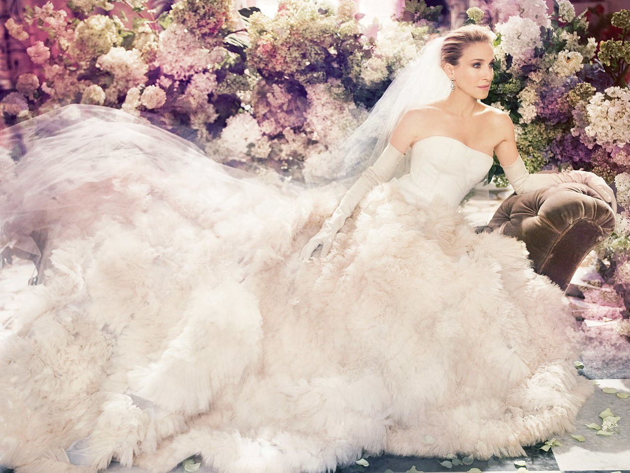 Sarah Jessica Parker Launches Bridal Line