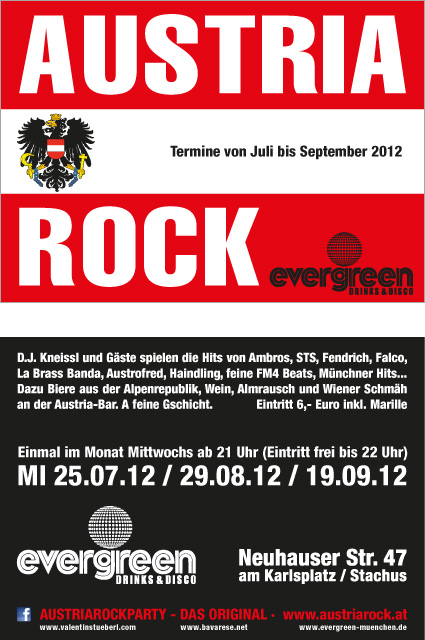 Austria Rock at evergreen Munich