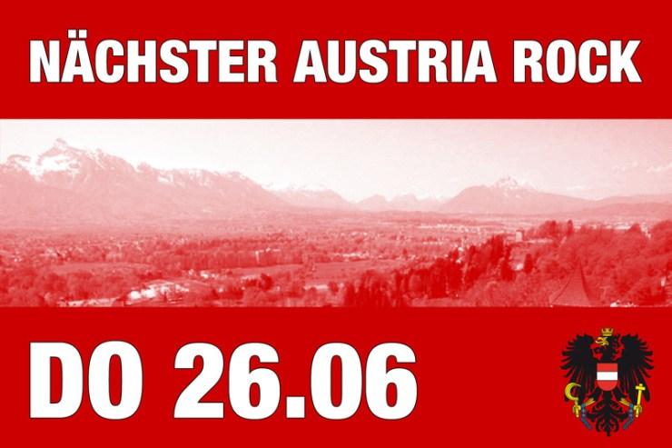 Austria Rock slide