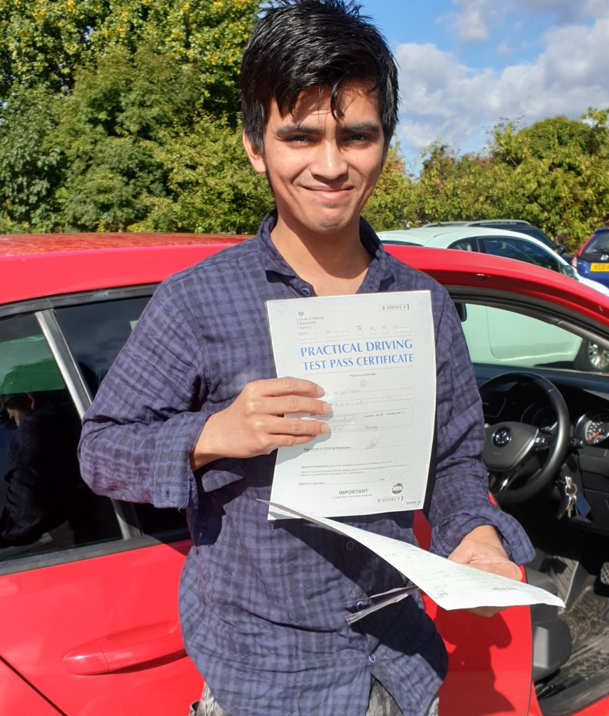 Fois passing driving test