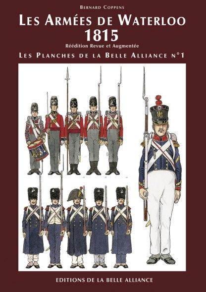 Planches N1: Les Armees de Waterloo 1815 - Couverture