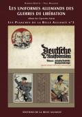 Planches N3: Les Uniformes allemands des Guerres de Libration - Couverture