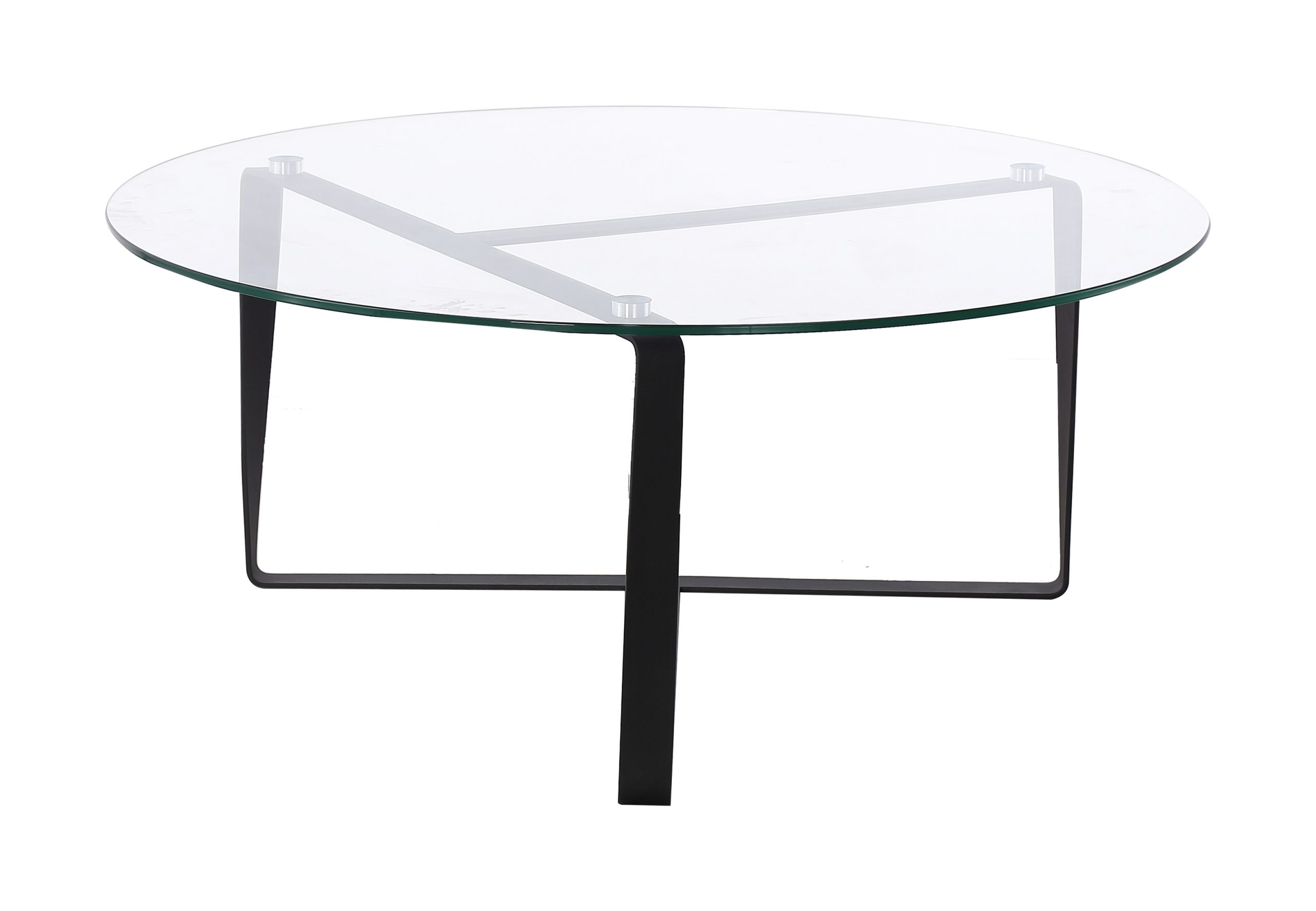 arv ha121 table basse metal noir verre