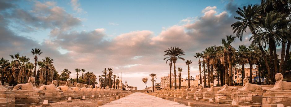 Avenue of Sphinxs Luxor