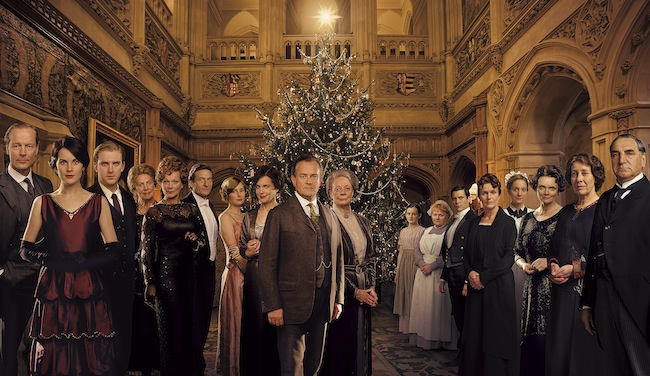 Downton Abbey Christmas ITV 2011