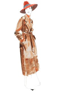 London fashion illustrator Sarah Smart tells Belle About Town what makes her tick