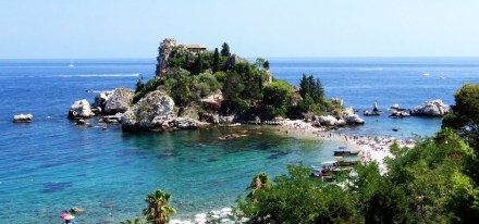Isola Bella - The pearl of the Ionian Sea, one of the wonders of Sicily