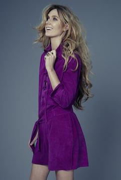 Kelly Simpkin London, 'Desert' dress' in royal pink