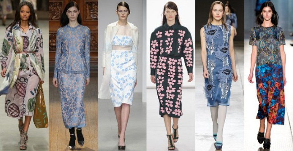 LFW AW14 Floral