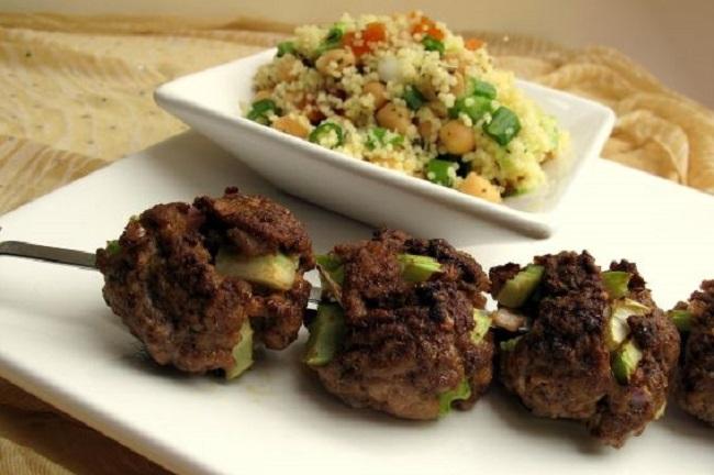 Moroccon Lamb Kebabs
