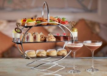 Opera afternoon tea at the Jumeirah Carlton hotel in Knightsbridge is Eat With Ellen's top food news event this September