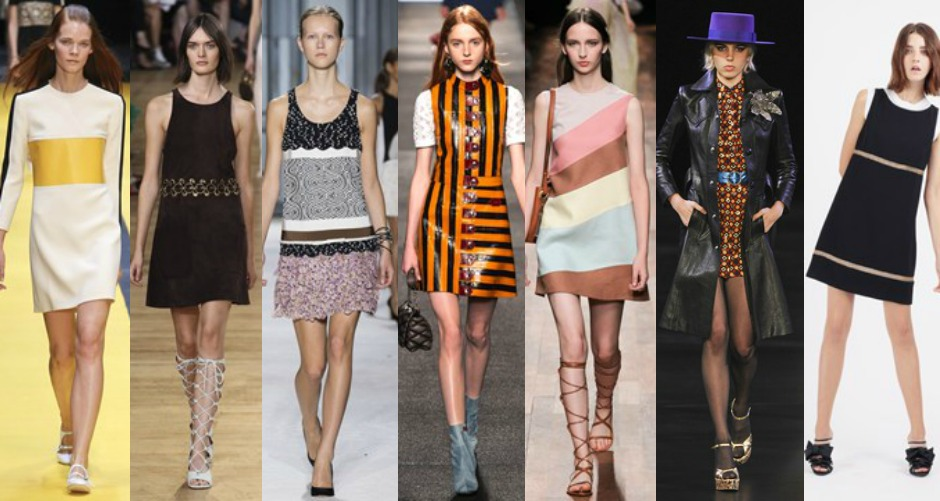 Paris Fashion Week Trends SS15 60s