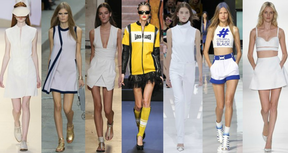 Paris Fashion Week Trends SS15 sport