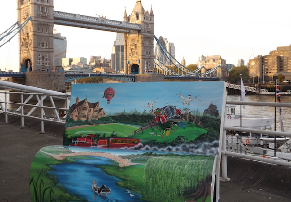 Wind in the Willows Tower Bridge