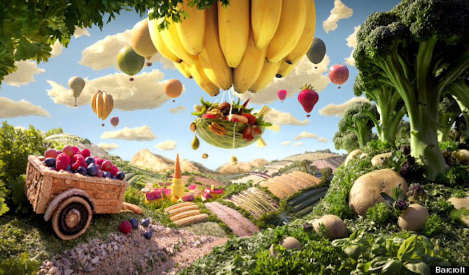 Carl Warner's Food Art