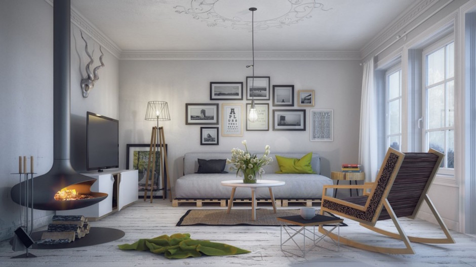 Ordinaire Traditional Scandinavian Interior Design