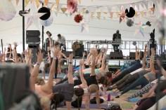 Soul Circus yoga session