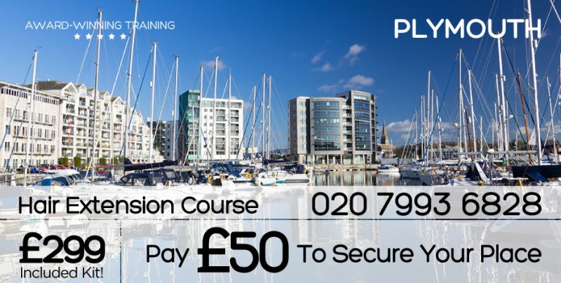 Plymouth Hair Extension Course