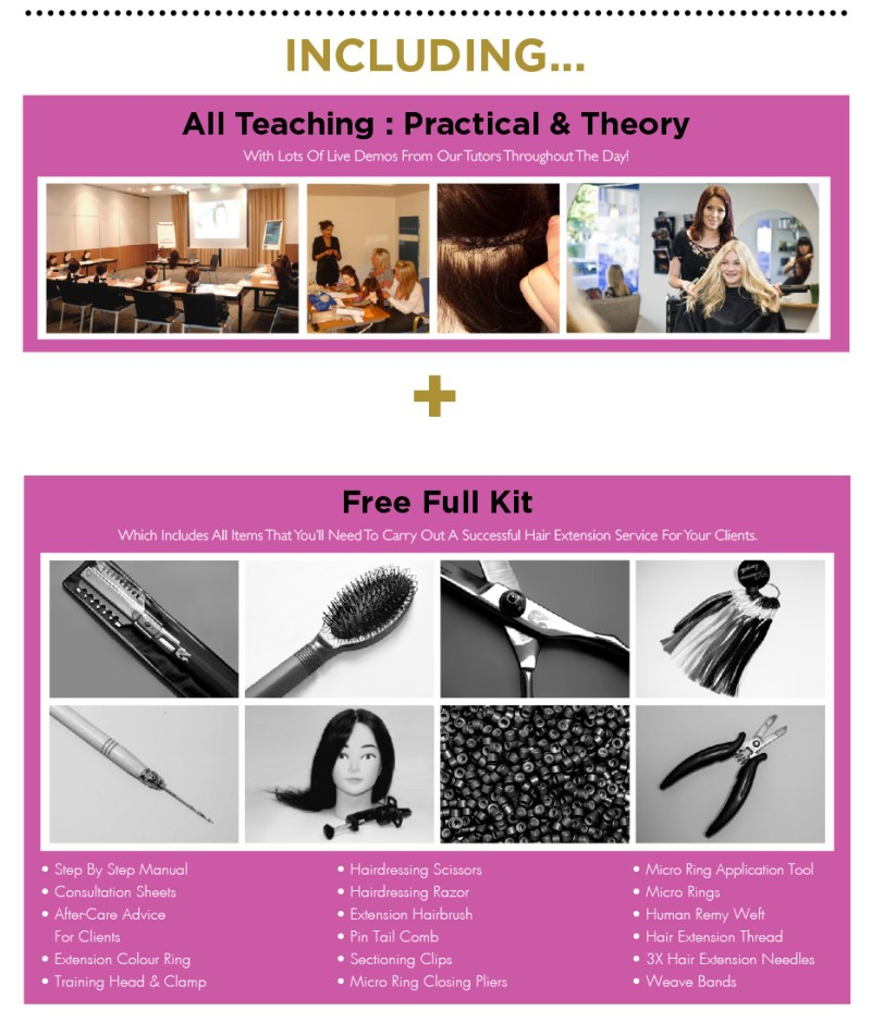 weave hair extension training 2