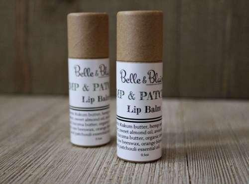 Eco Hemp & Patchouli Lip Balm