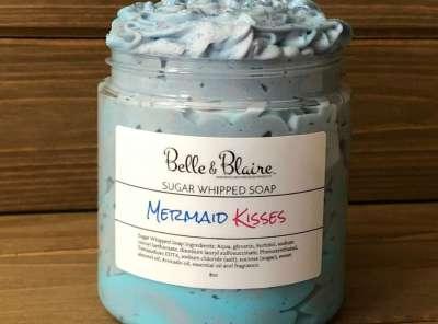 Mermaid Kisses Sugar Whipped Soap