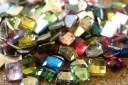 Pierres carrées très brillantes
