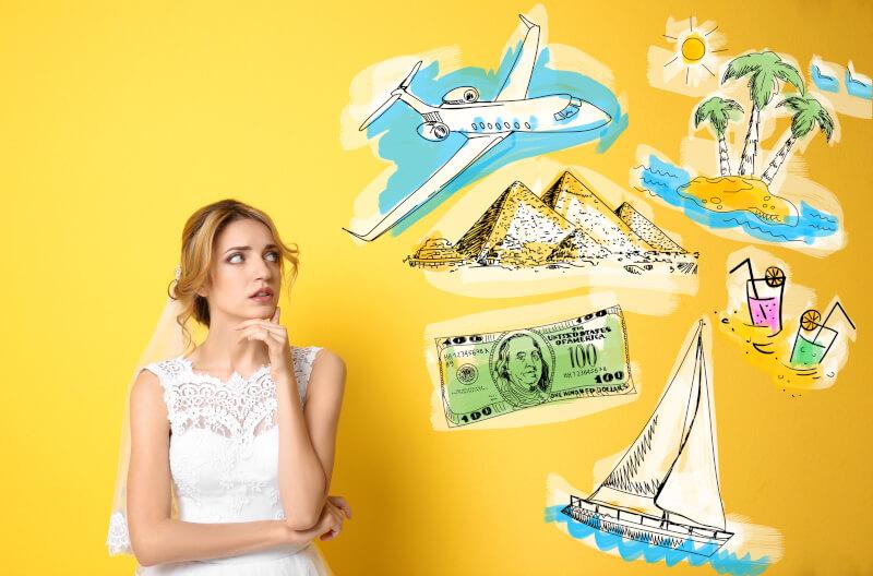 Where to start when planning your honeymoon