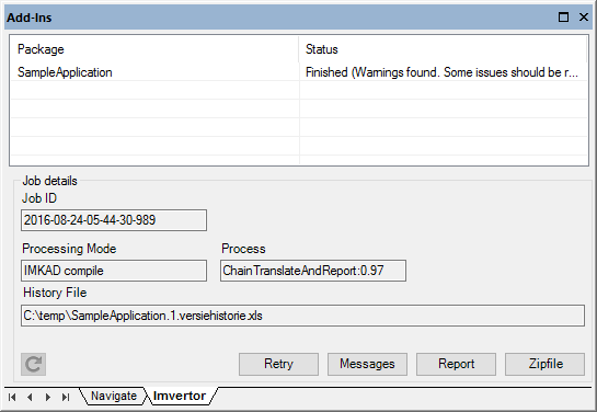 EA Imvertor docked window finished
