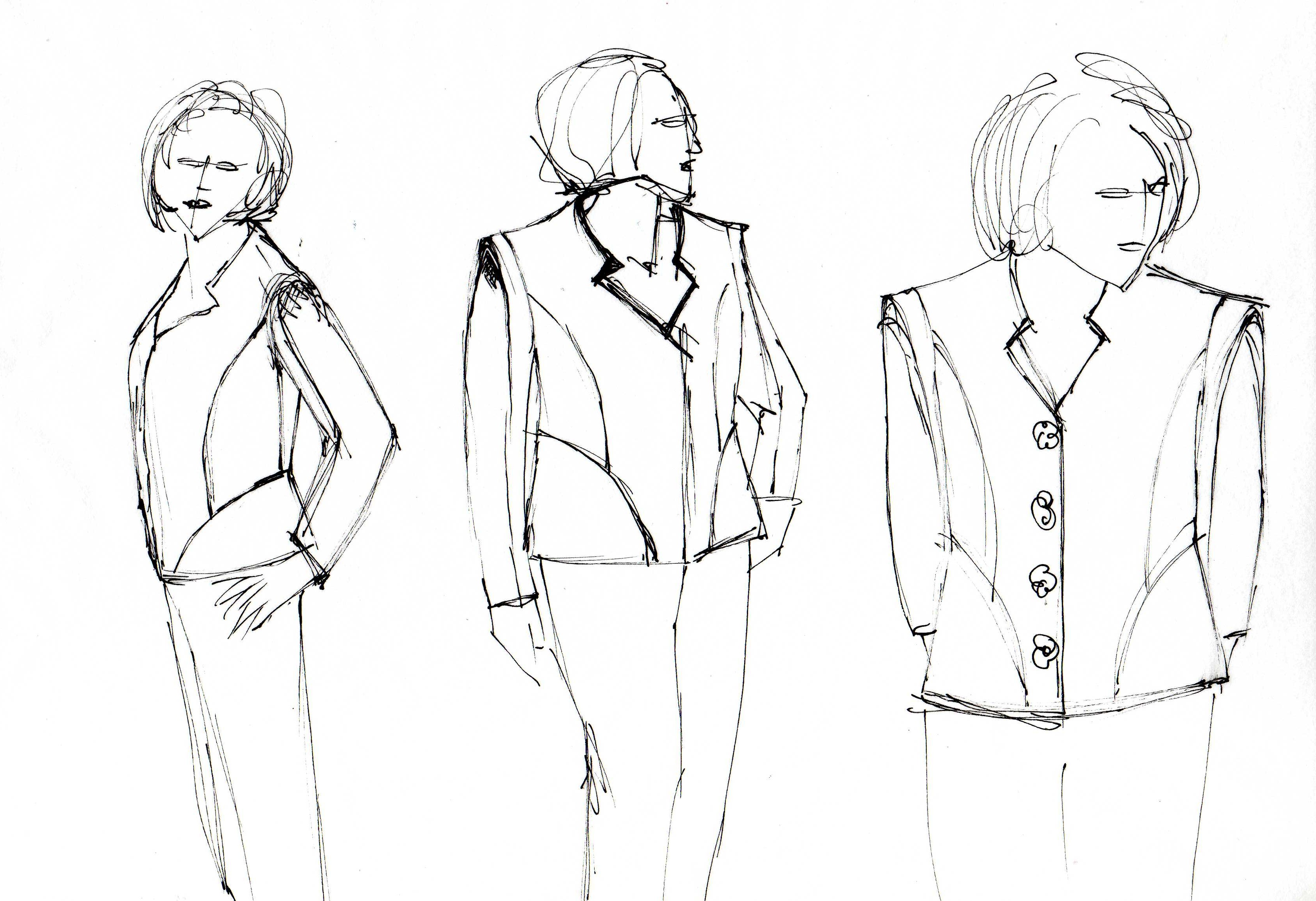 Sketches Of Jackets