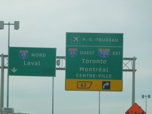 Highway signs to Toronto2