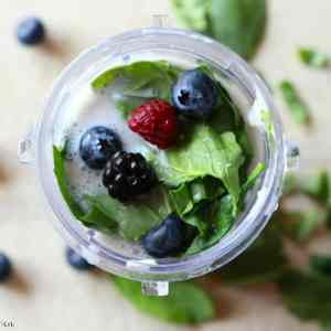 Berry + Spinach Smoothie