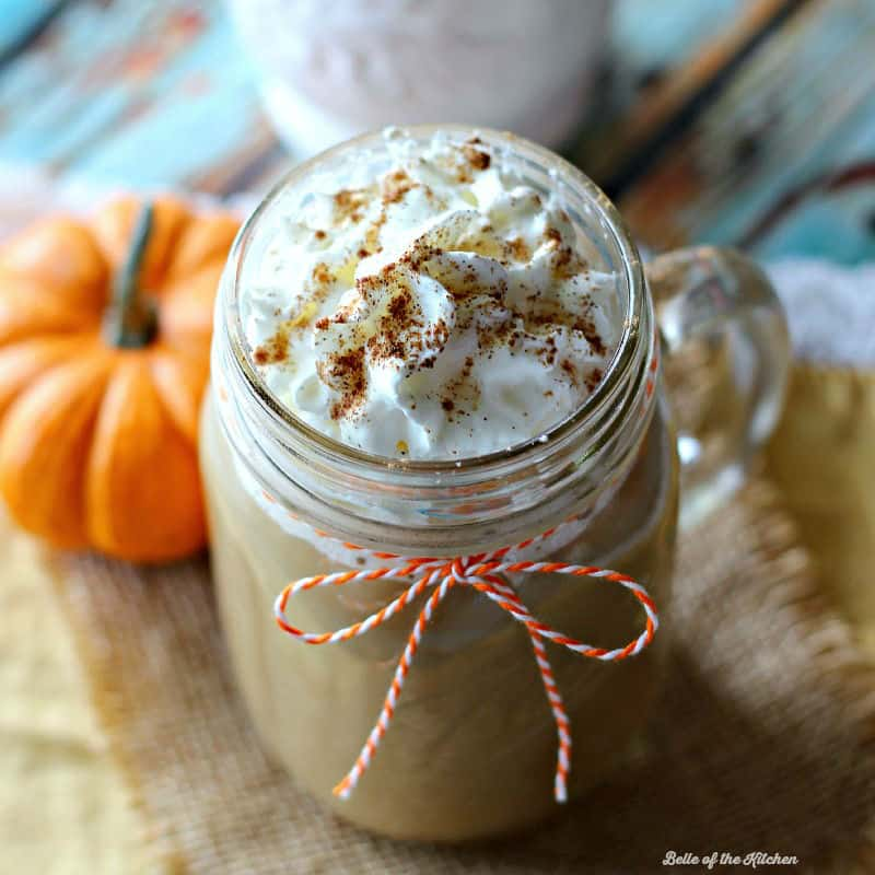 Pumpkin Spice Coffee | Belle of the Kitchen