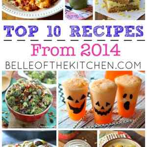 From healthy breakfasts to decadent desserts, comforting dinners to holiday treats, these were your favorite recipes from the past year!