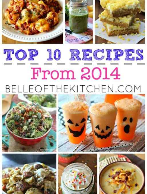 Top 10 Recipes From 2014!
