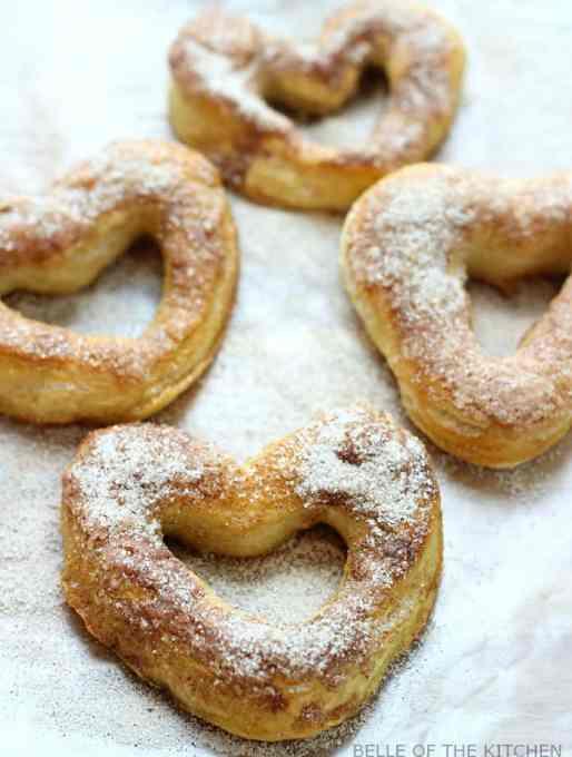 Easy Cinnamon and Sugar Soft Pretzels