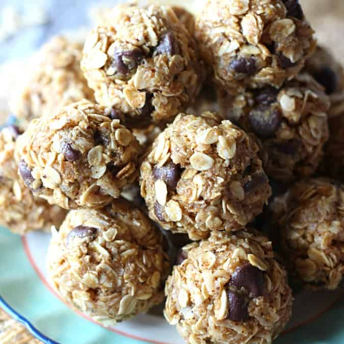 Need a healthy snack to give you a boost? These Coconut Almond Energy Bites are packed with protein and are a delicious way to stay fueled when you're on-the-go!