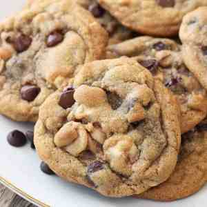 These Caramel Chocolate Chip Cookies are my family's favorite! I get asked to make them all the time!