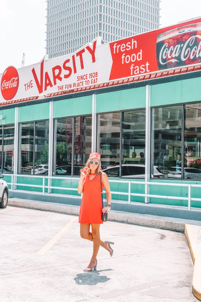 The varsity in midtown Atlanta, one of the top things to do in atlanta like a local