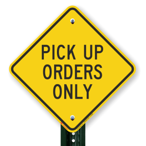 Pick up only