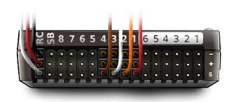 Pixhawk RC + ESC wiring