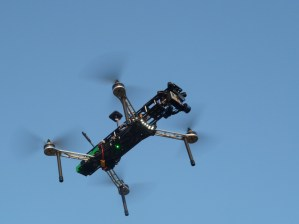QAV500 v2 in the sky