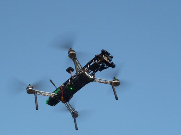 QAV500 v2 in the sky