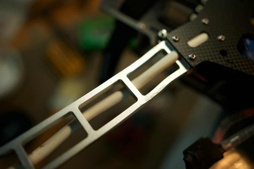 QAV aluminum 540mm fixed arm