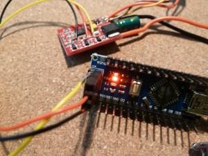 Emax ESC to Arduino