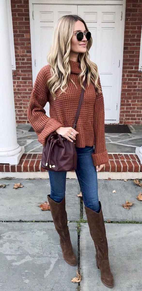 02 Adorable Winter Outfit Ideas with Boots
